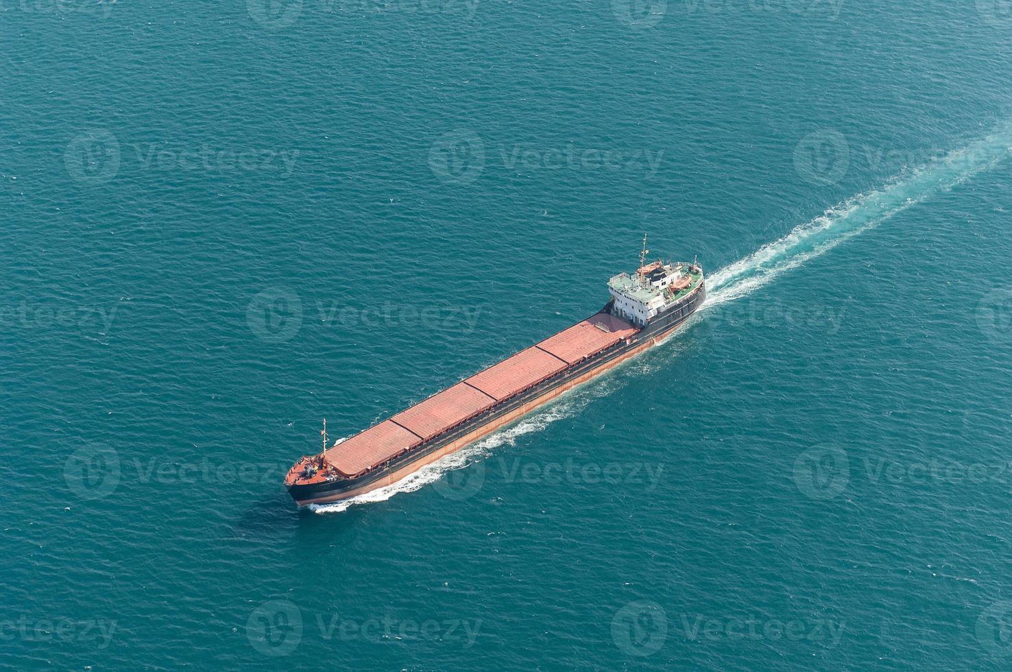 Güterverkehrsschiff foto