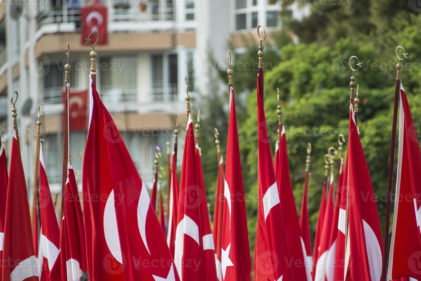 Nationalfeiertag in der Türkei. foto