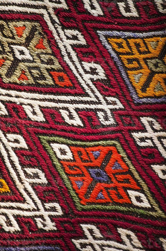 türkischer Teppich foto