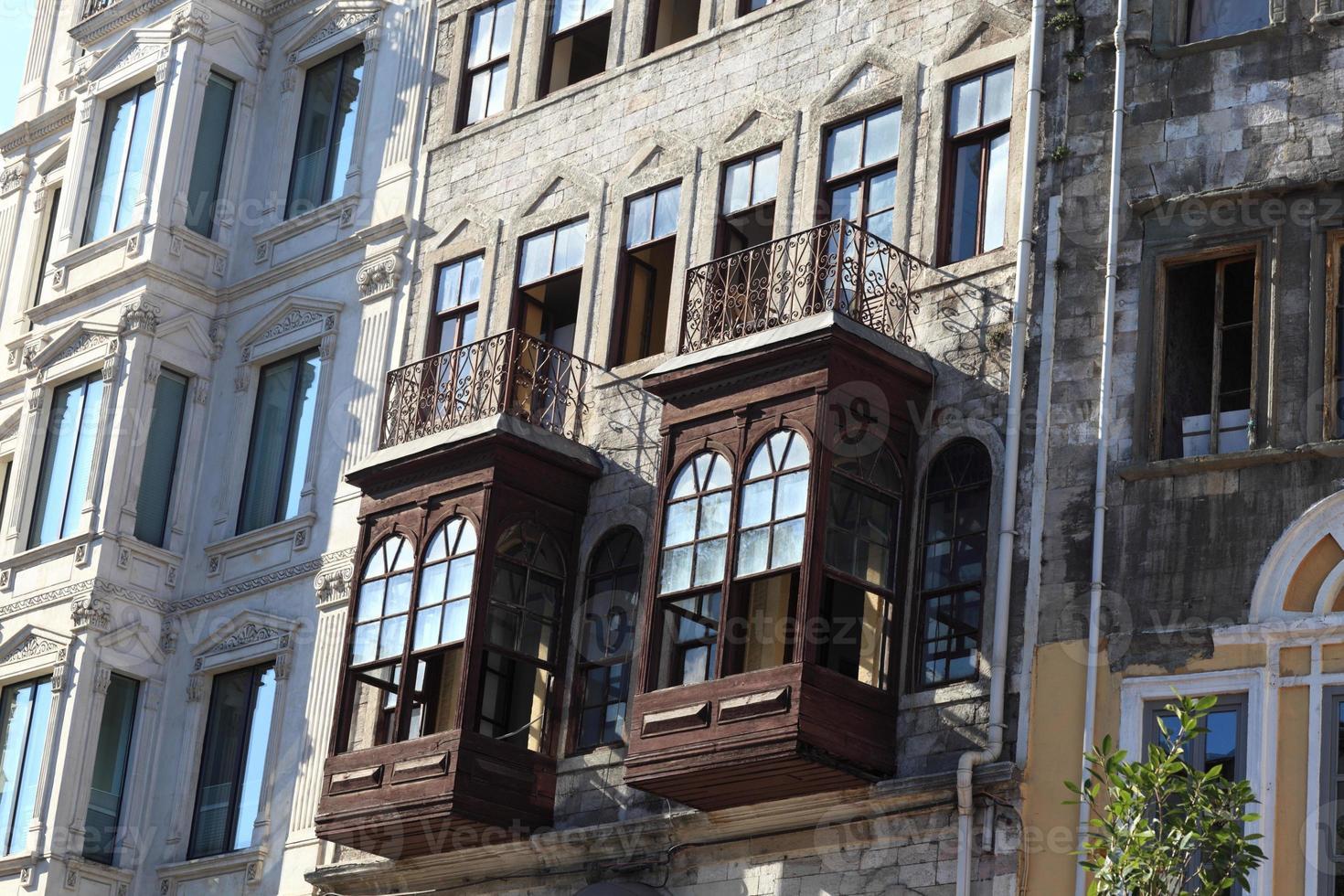 Blick auf altes Gebäude foto
