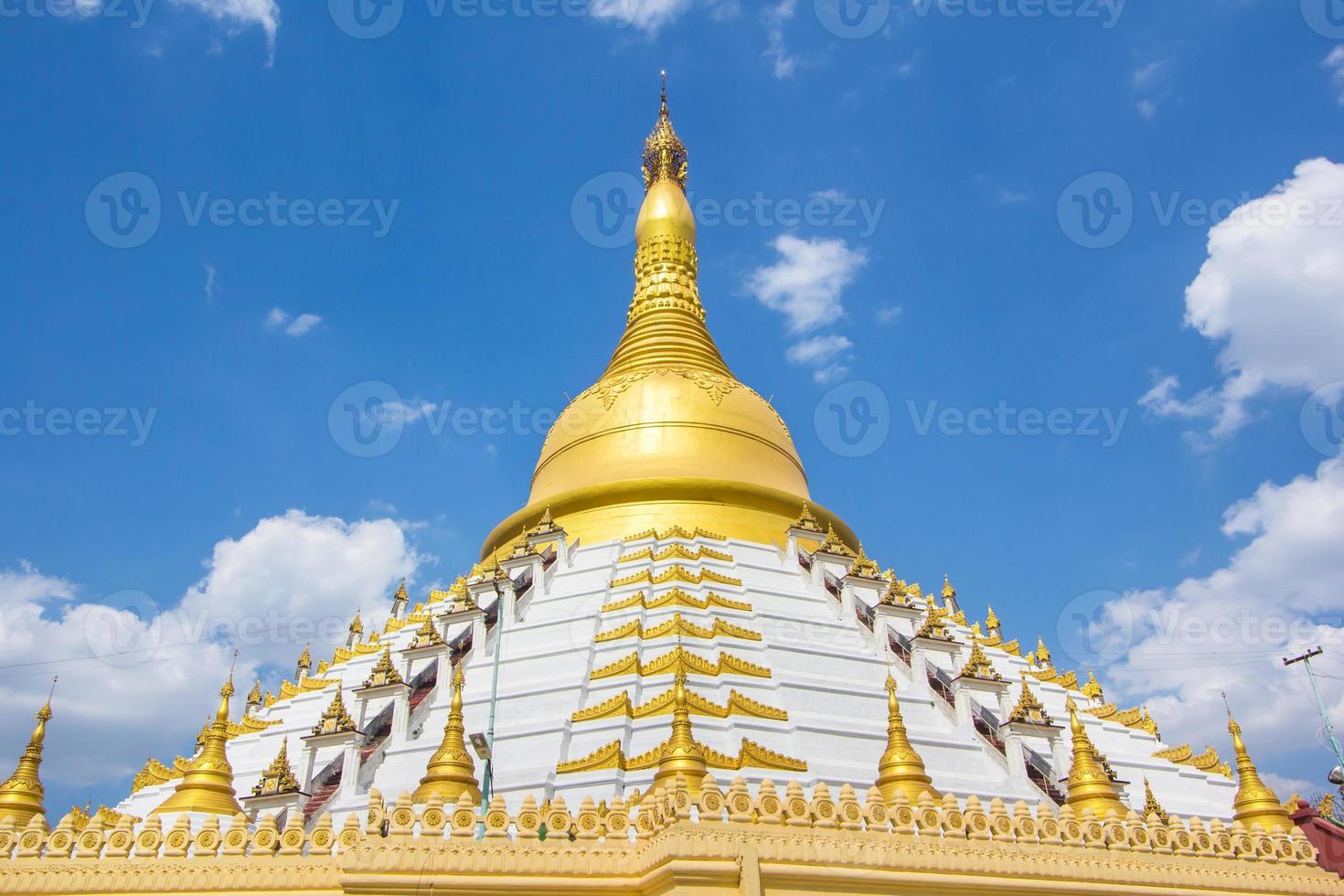 goldene pagode bago myanmar. foto