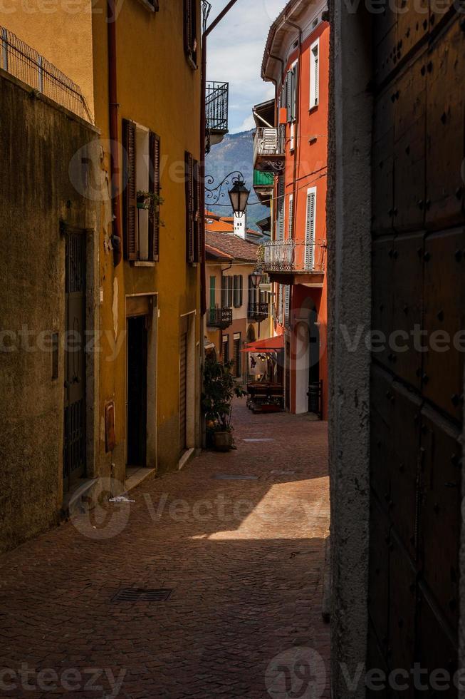 Luino, Lago Maggiore, Varese, Lombardei, Italien foto