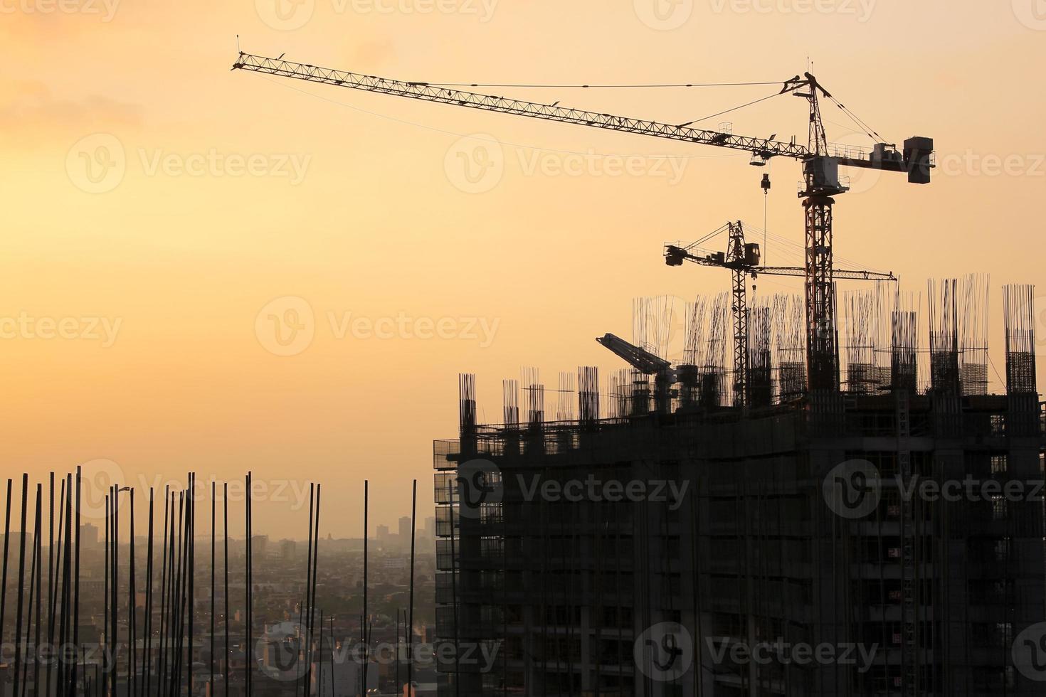 Bau in Makati City in Manila foto