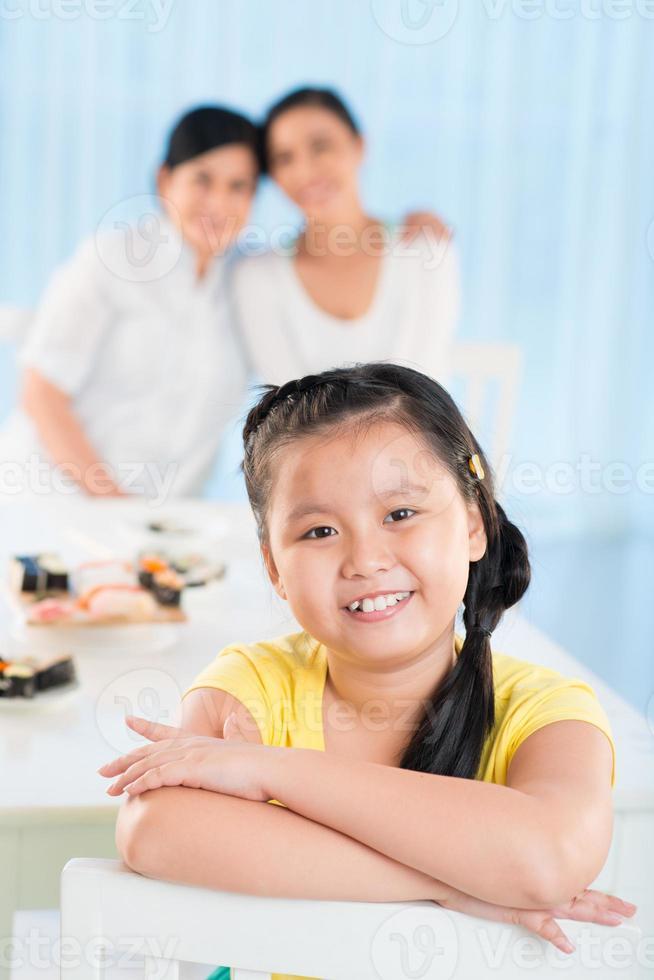 glückliches Kind foto