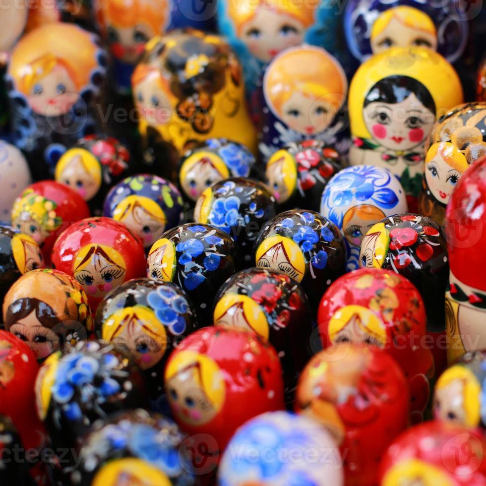 Russland, Moskau Geschenkeladen foto