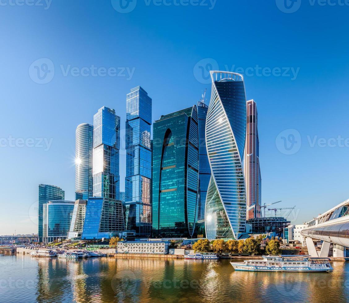 Moskau Stadt. foto
