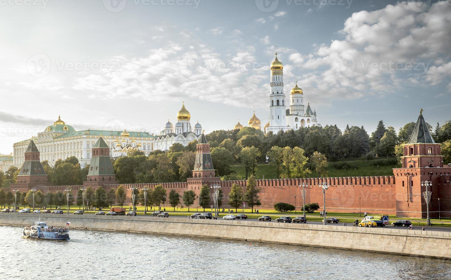 der Moskauer Kreml, Russland foto