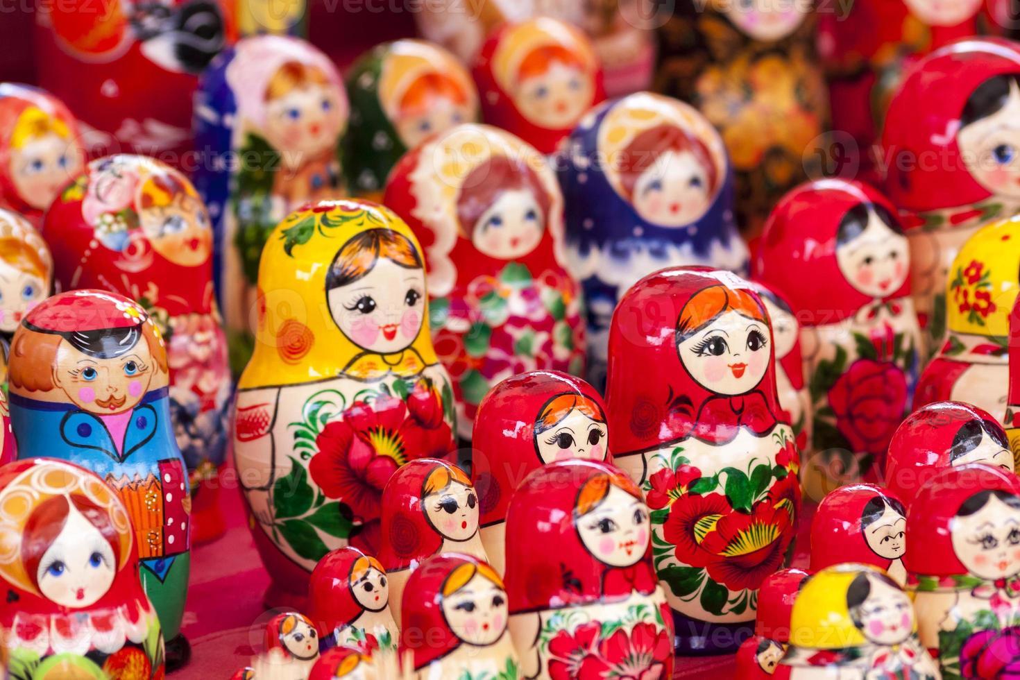russische ukrainische Puppen foto
