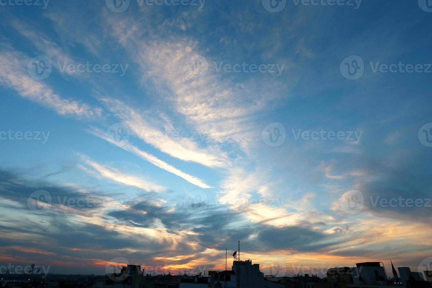 Foto Sonnenuntergang Himmel