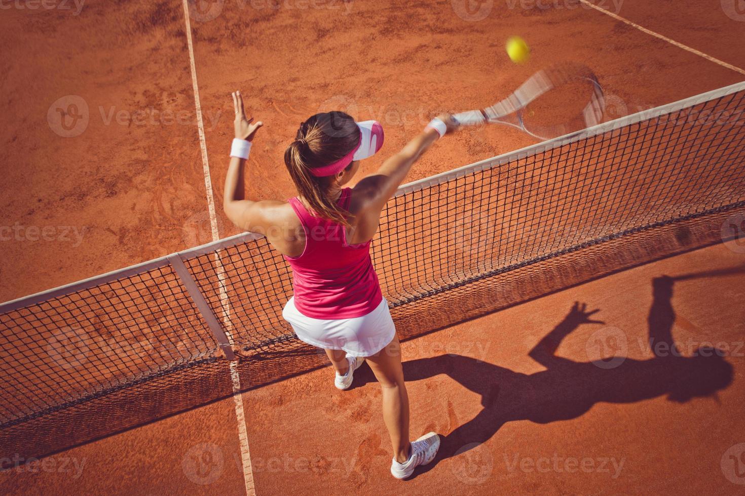 Tennisspielerin foto