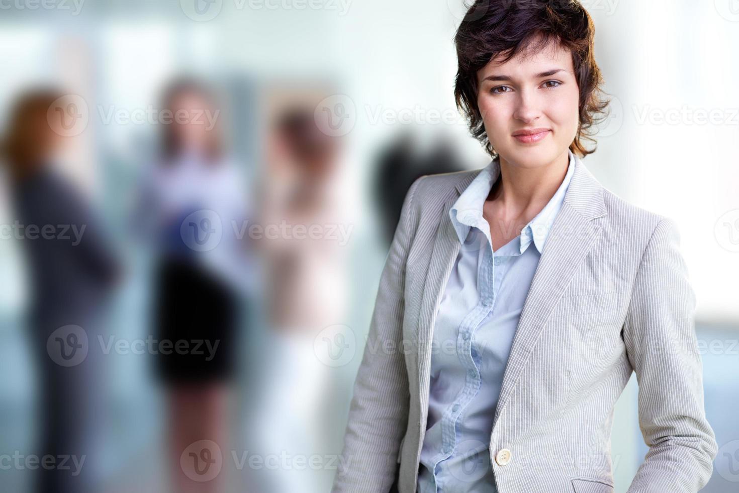 elegante Frau foto