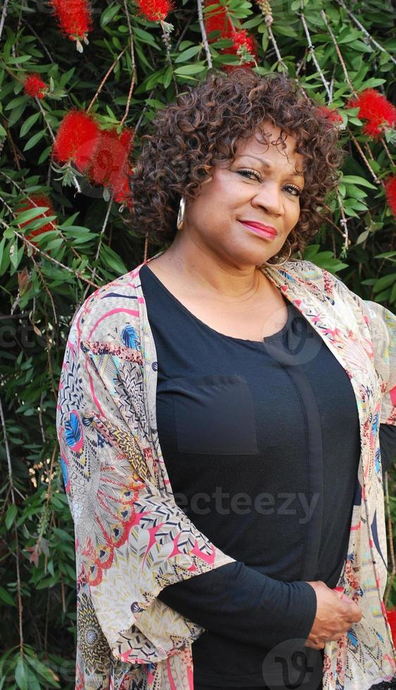 Afroamerikaner weiblich. foto