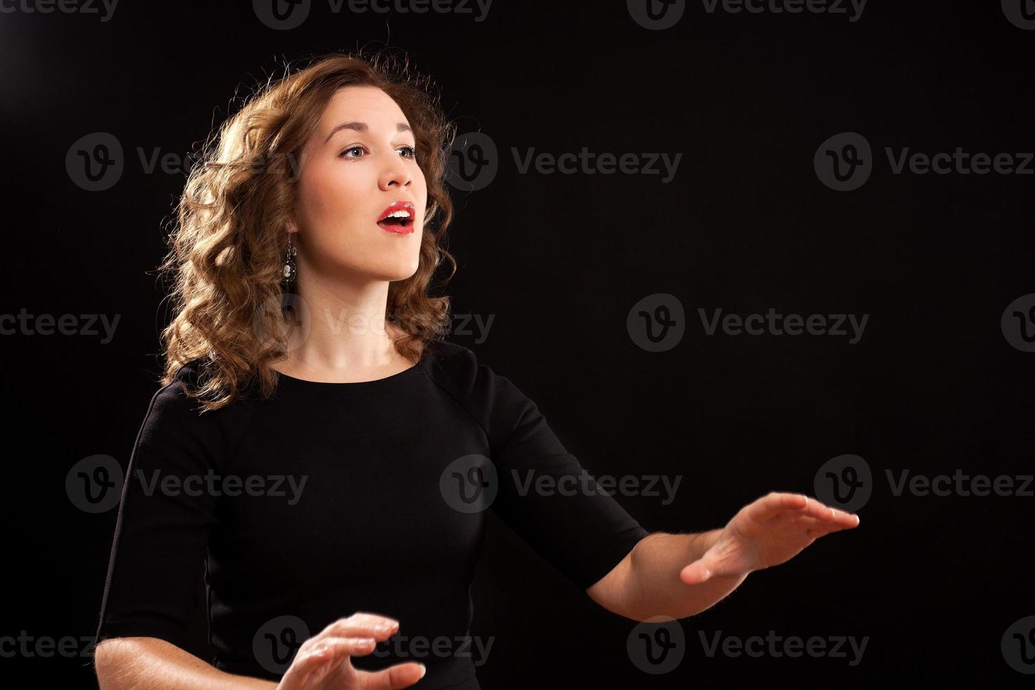 Chorleiterin foto