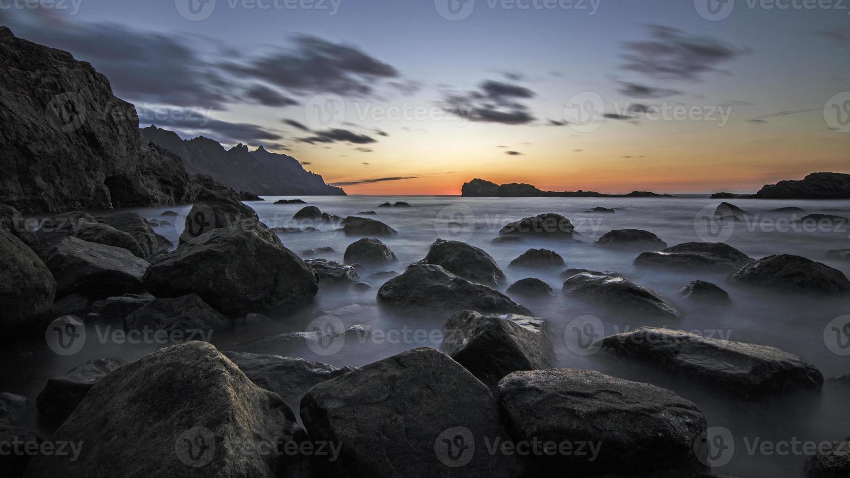 Las Bajas Sonnenuntergang foto