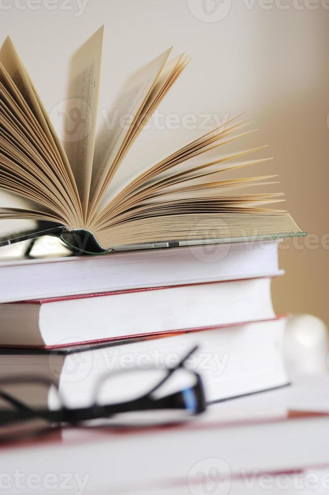 offenes Buch foto