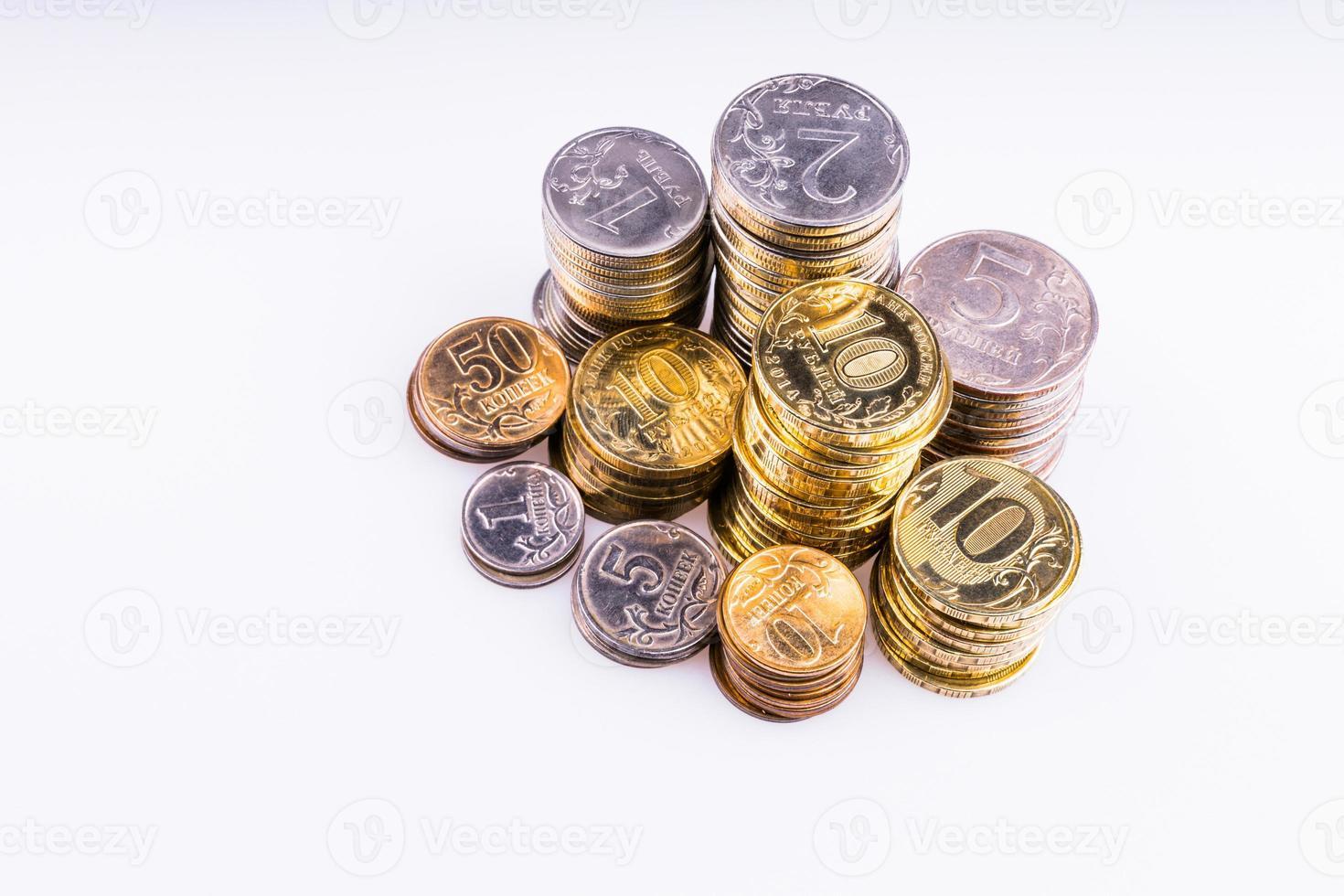 Geld. die Münzen. foto