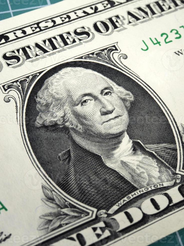Benjamin Franklin auf hundert Dollar Rechnung foto