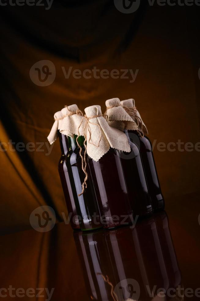 Homebrew-Bier foto