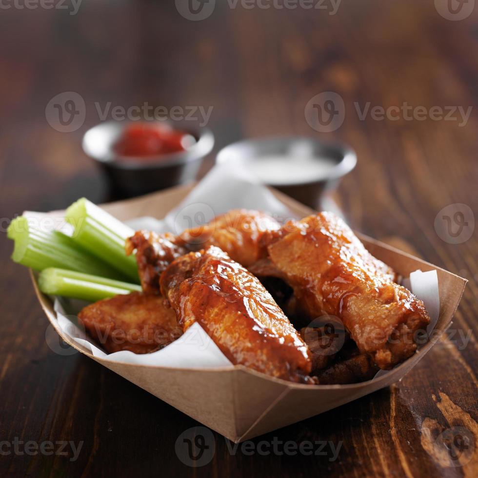Barbecue Buffalo Chicken Wings foto