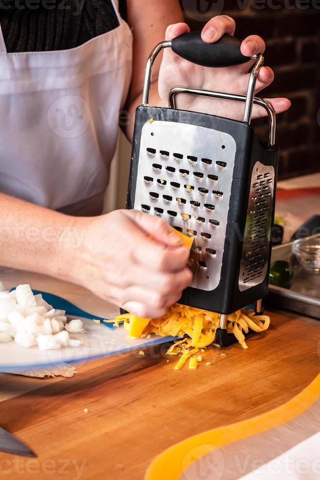 Kochschule umrühren foto