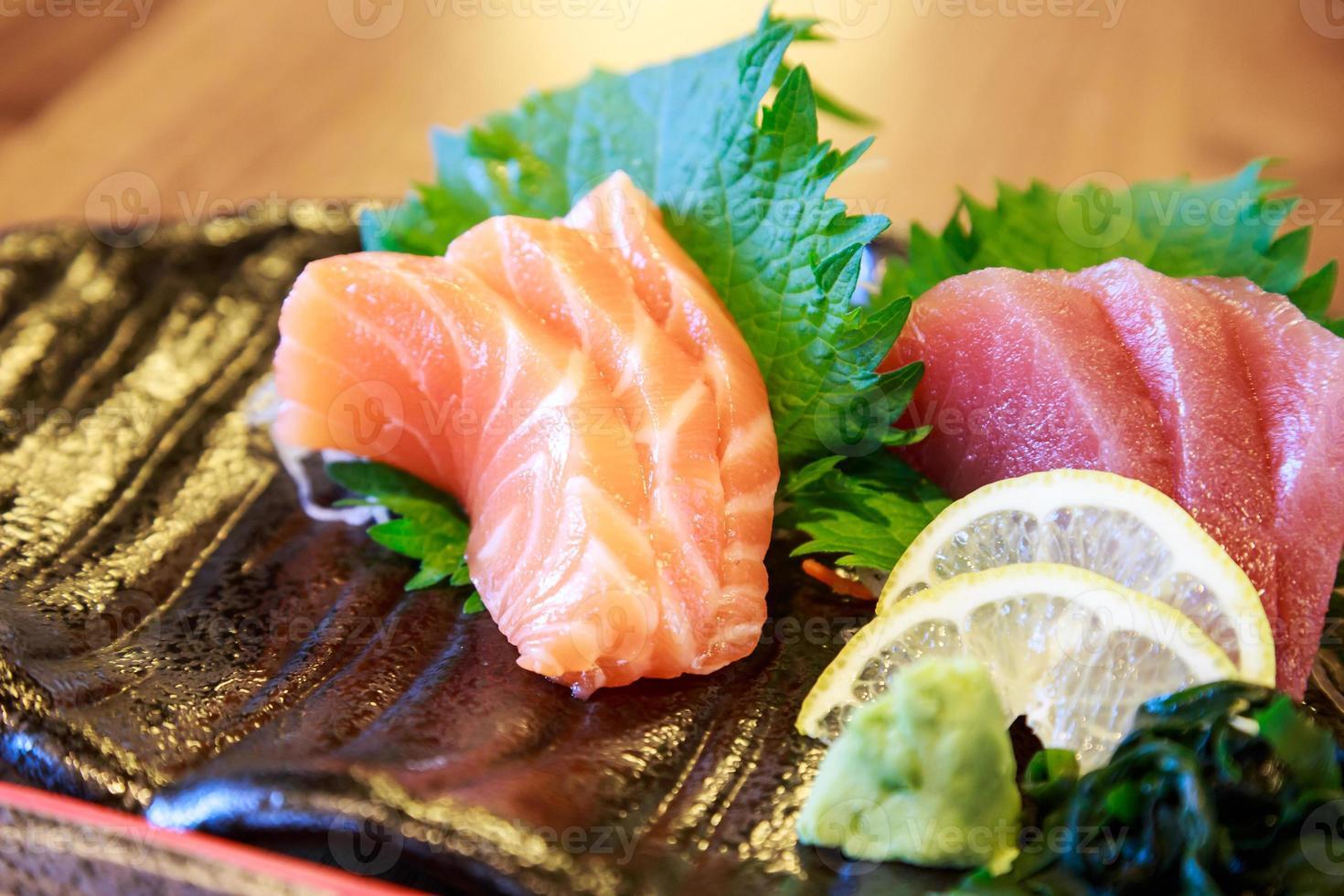 Sushi rohen Fisch foto