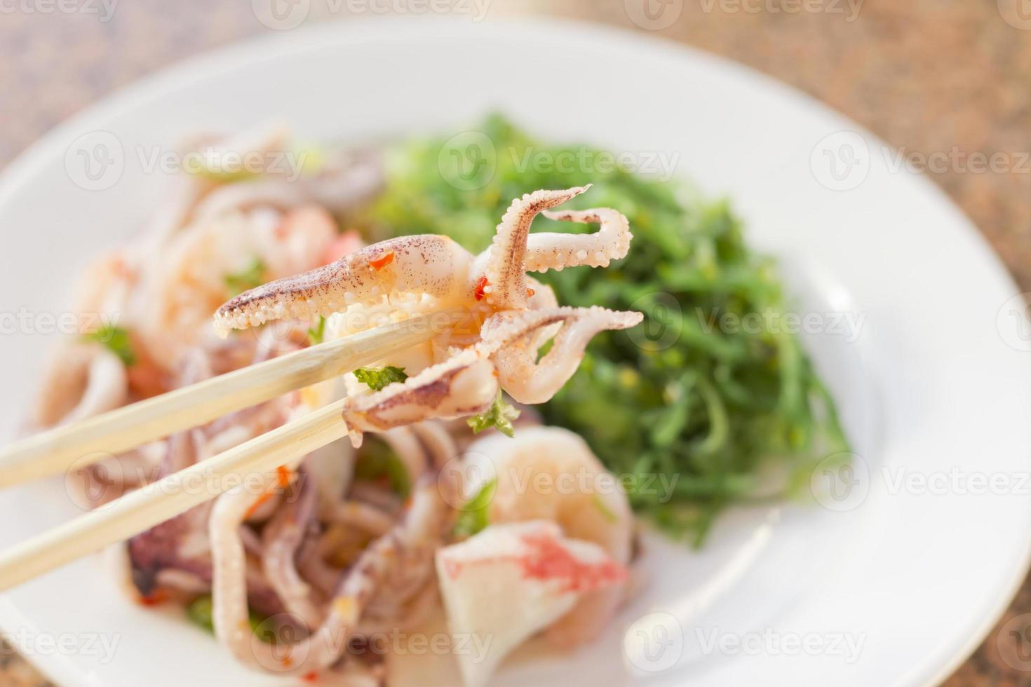 Meeresfrüchtesalat Salat foto