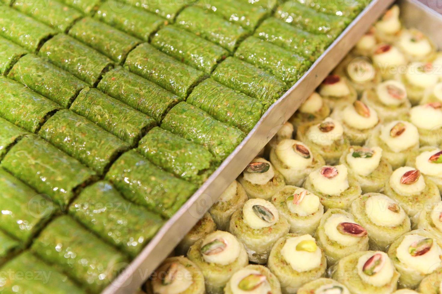 türkische Süßigkeiten foto