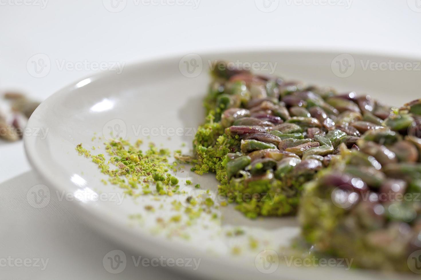 türkisches Dessert foto