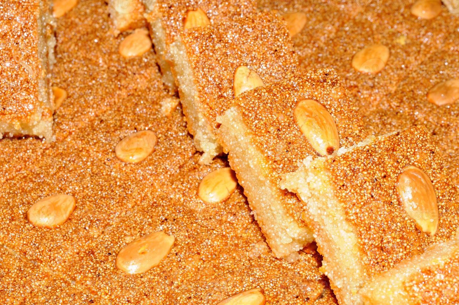 arabische Süßigkeiten. foto