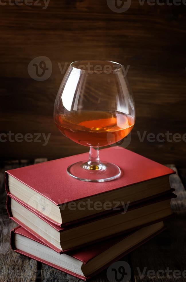 Glas Cognac foto