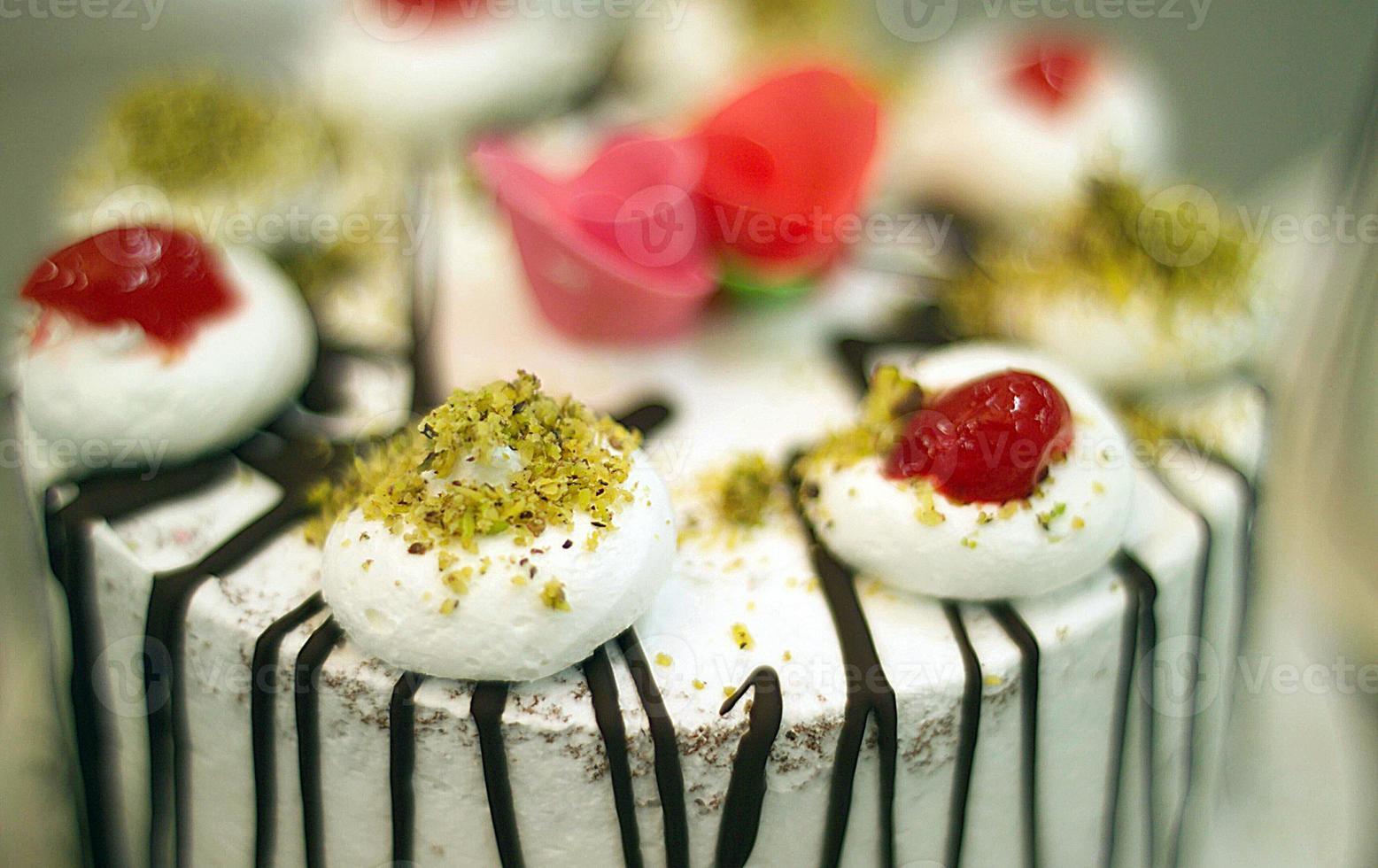 Catering, dekorative Kuchen. foto