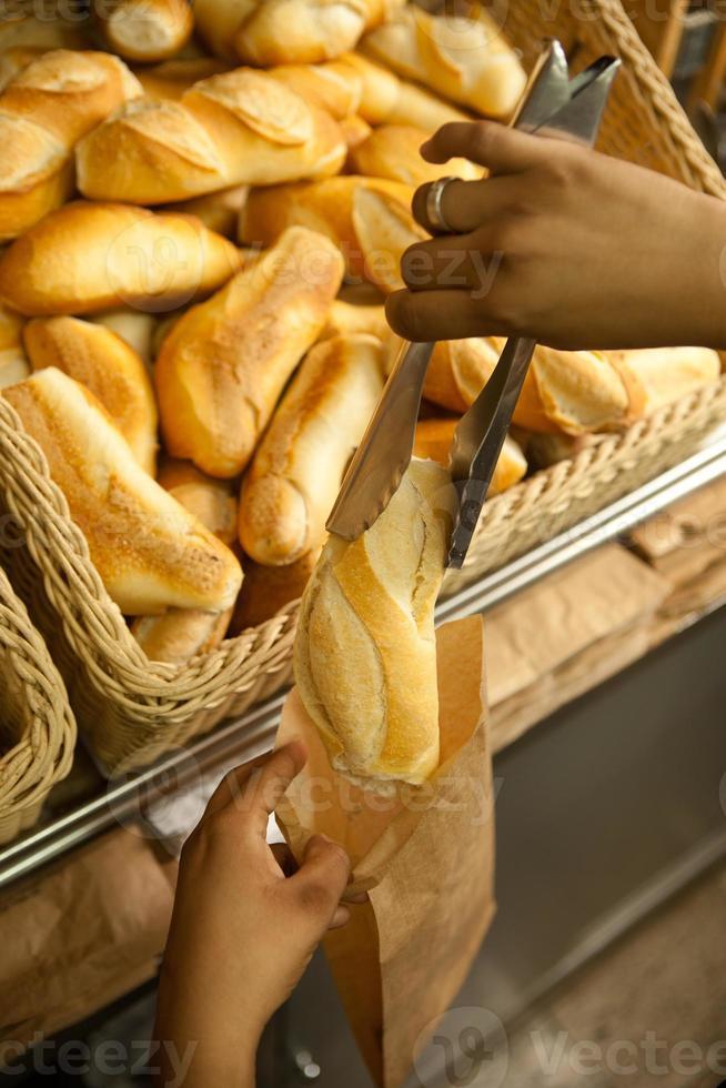 Brotbäckerei. foto