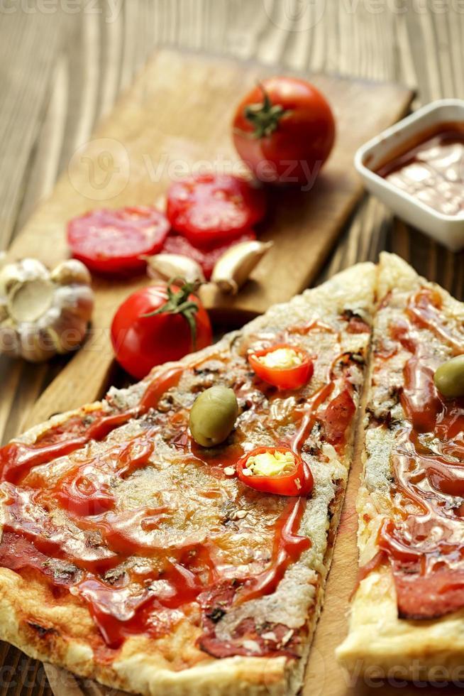 Italienische Pizza foto