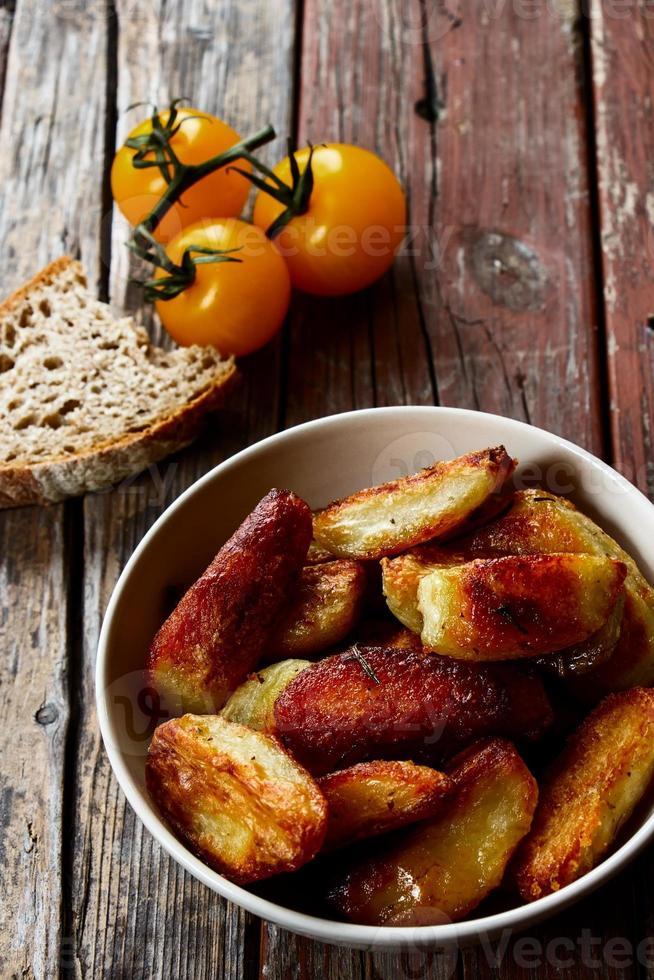 gebackenen Kartoffeln foto