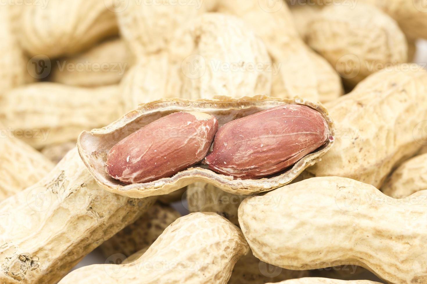 Erdnuss gebacken foto