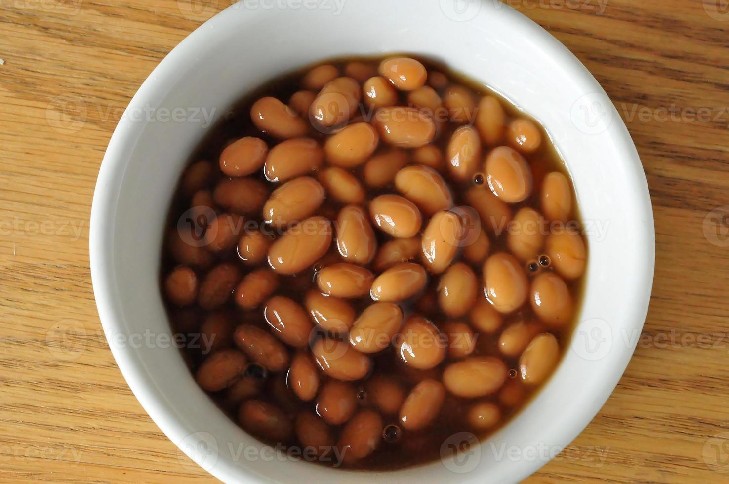 gebackene Bohnen foto