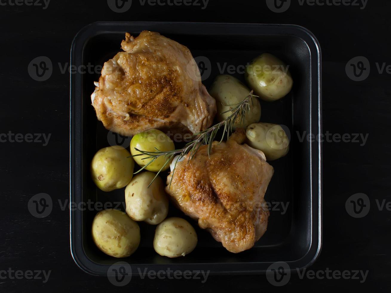 Gebackenes Hühnchen foto