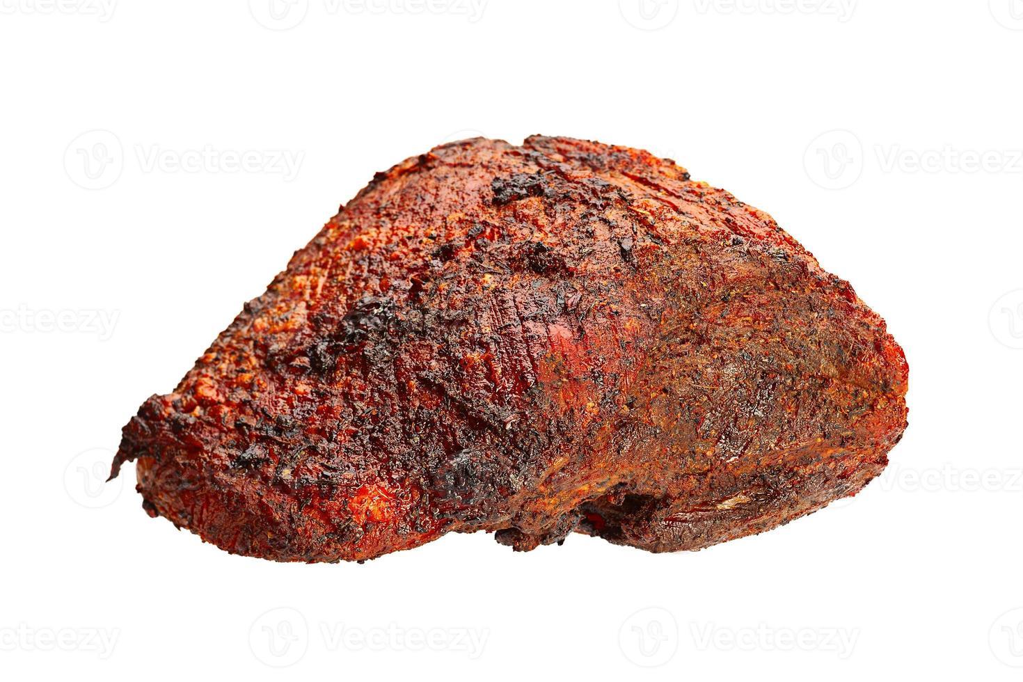Schweinefleisch gebackenes Fleisch foto
