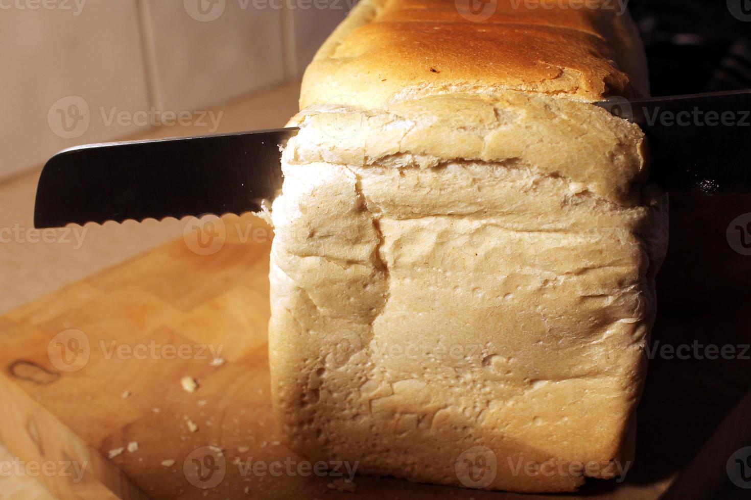 frisch gebackenes Brot foto
