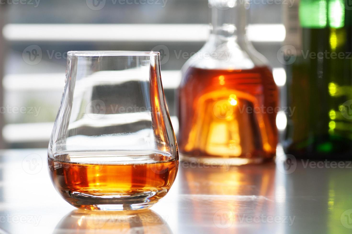 verschiedene alkoholische Getränke foto