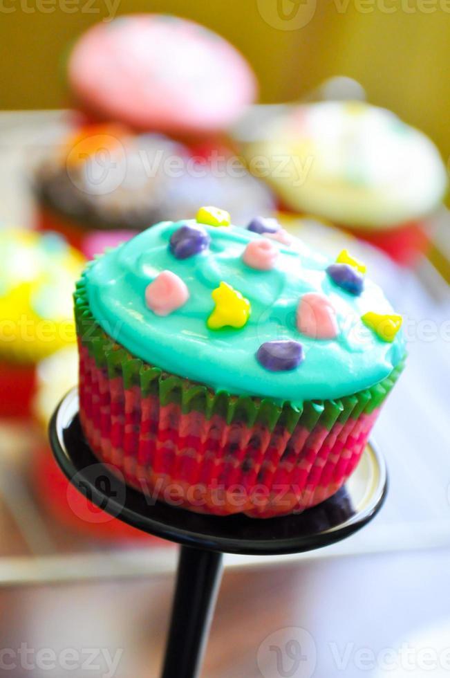 Muffins Rezept Nahaufnahme foto