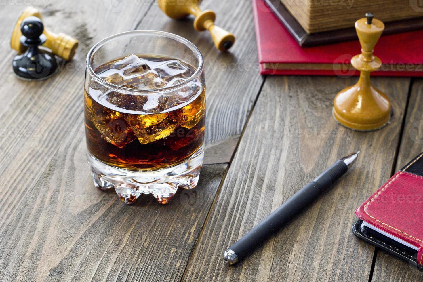 Whisky und Schach foto