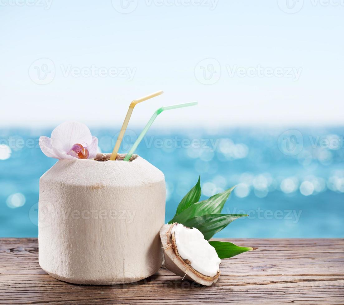 Kokosnusswasser foto