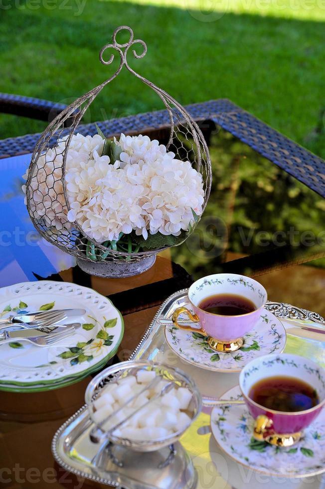 Teezeit foto