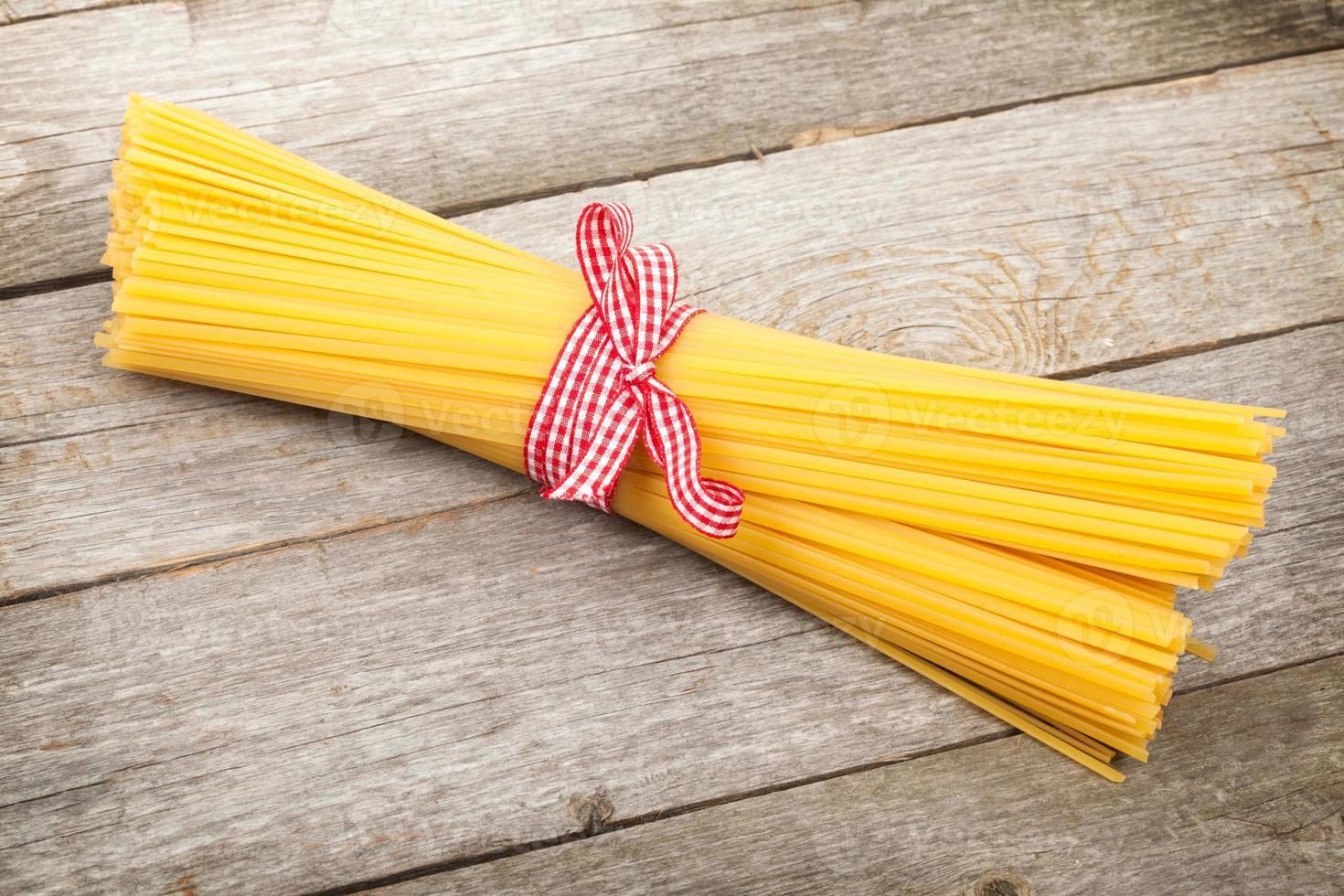 Bündel Spaghetti foto
