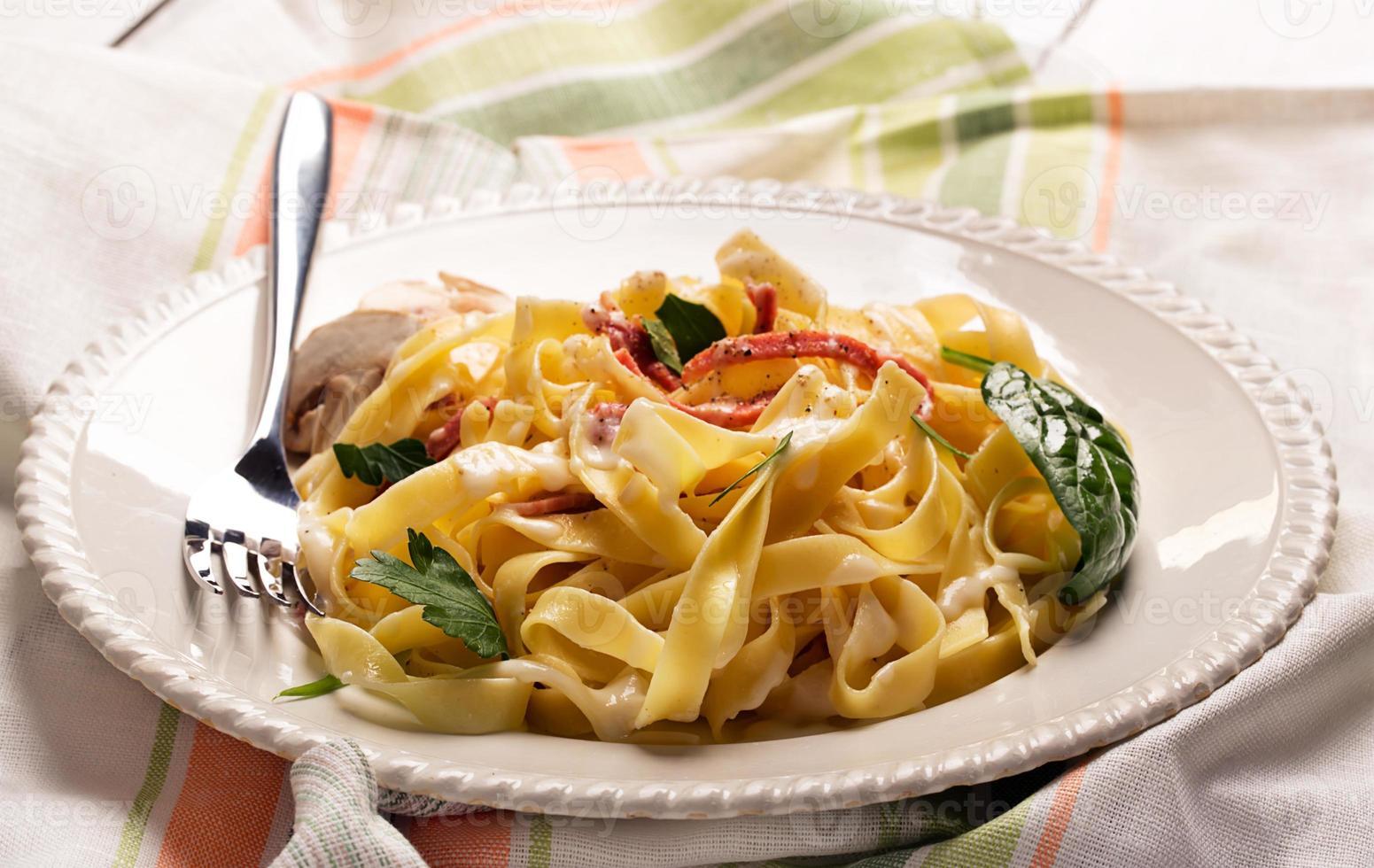 Pasta Carbonara foto