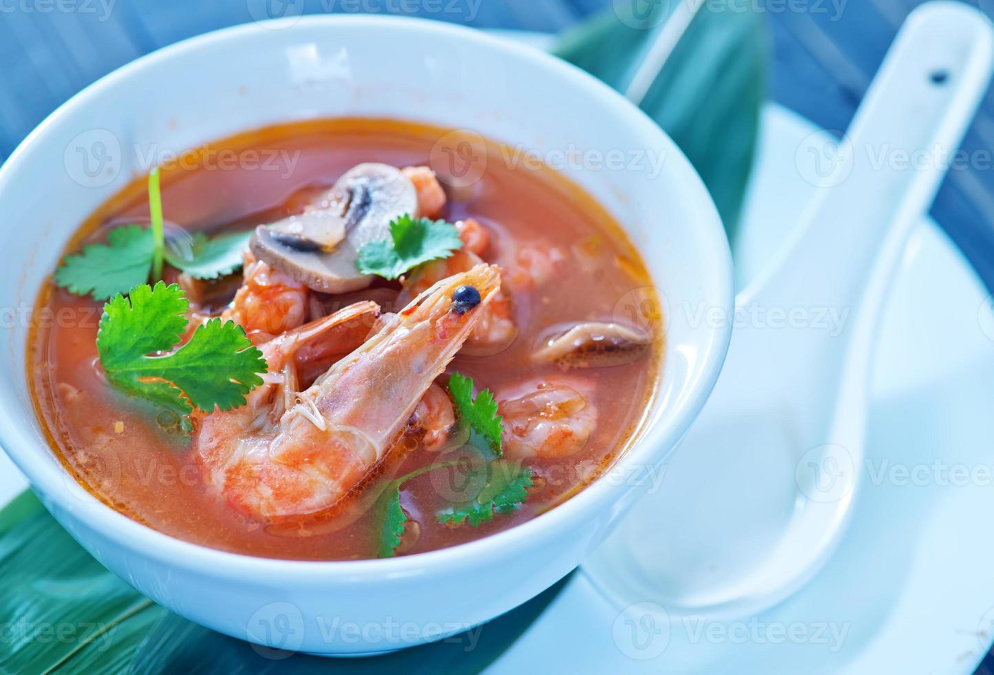 Tom Yam Suppe foto