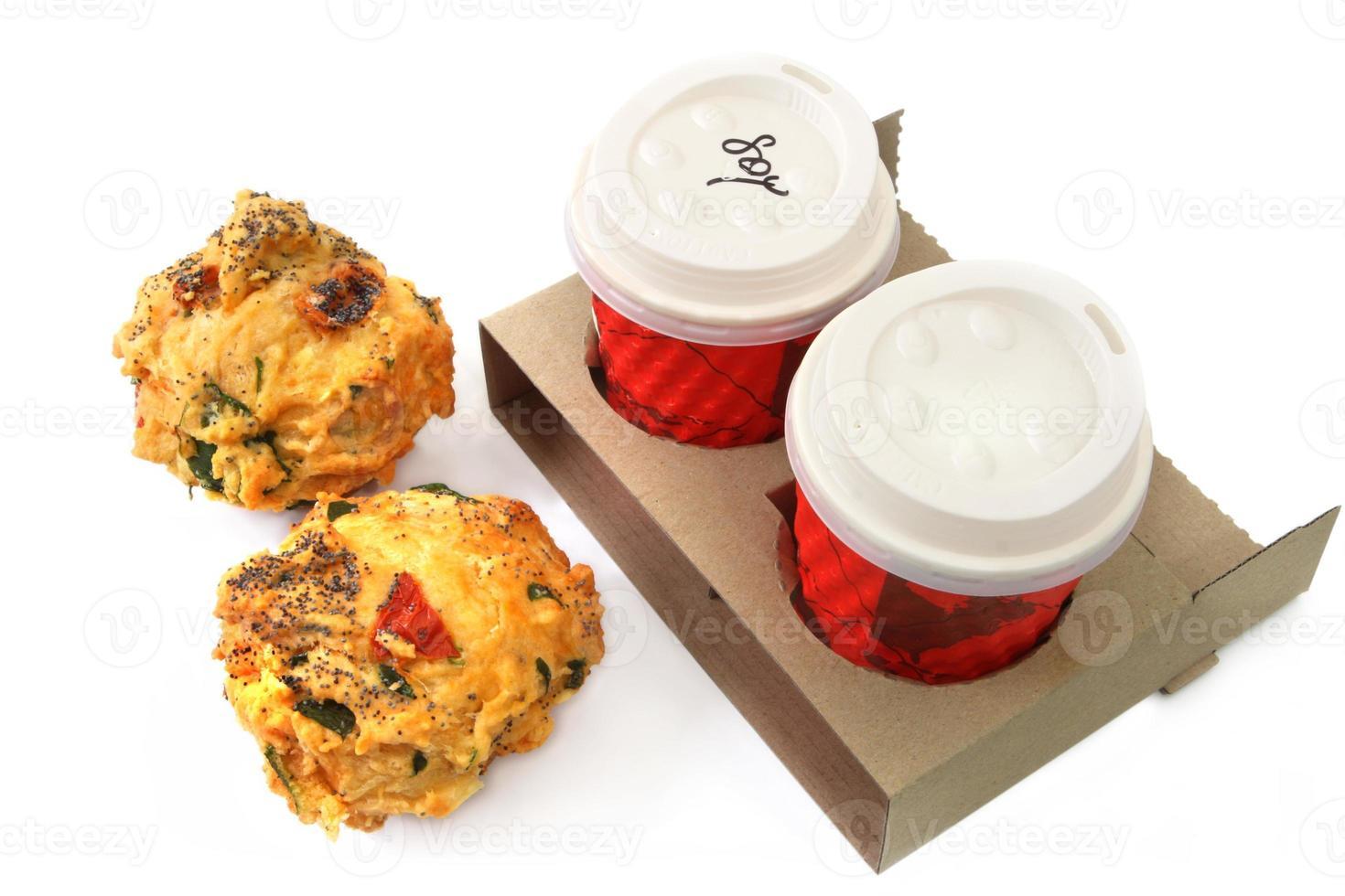 Kaffee und Muffins foto