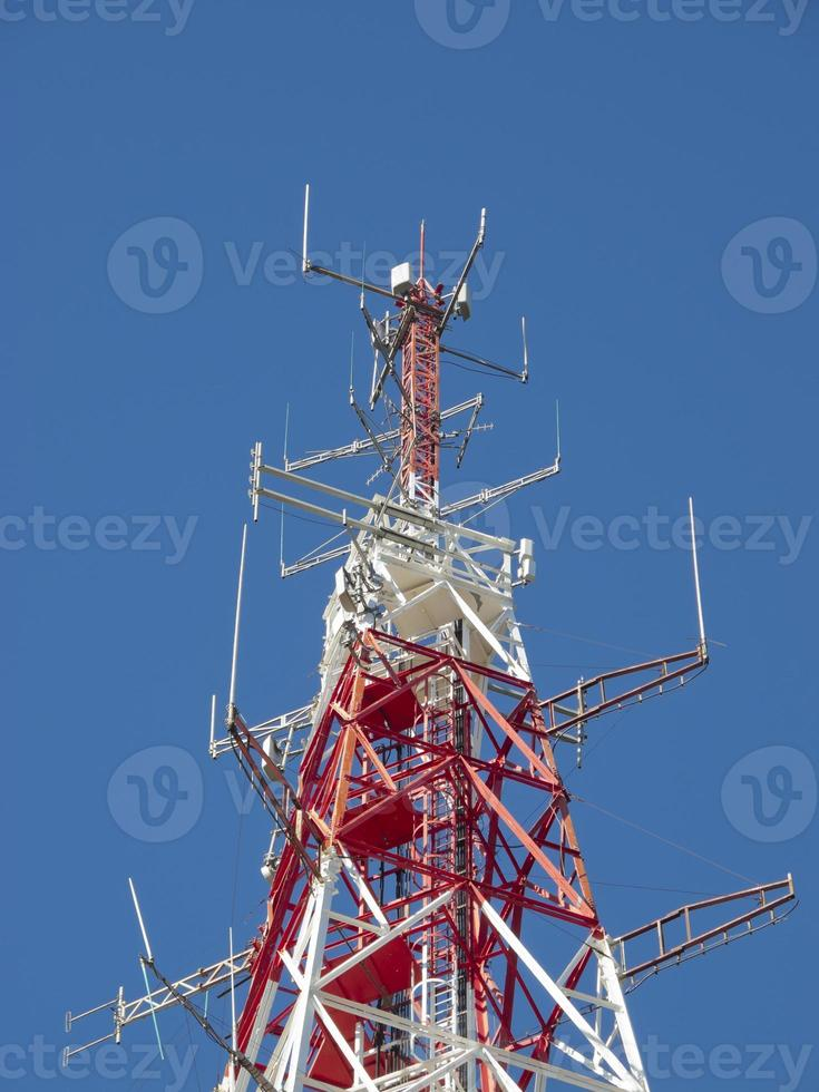 Telekommunikationsantenne foto