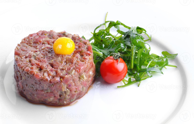 Kalbfleisch Tartar foto